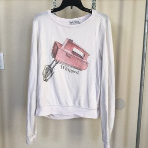 Rare WILDFOX WHIPPED pullover sweatshirt small